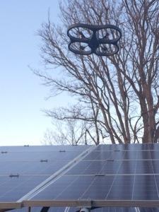 AR.Drone(ドローン)による太陽光パネルチェック